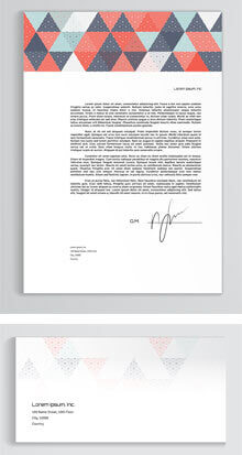 Printed letterheads & compliment slips